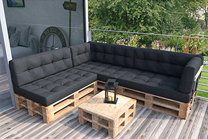 lounge aus paletten lounge aus paletten bauen diy paletten outdoor lounges nowaday garden. Black Bedroom Furniture Sets. Home Design Ideas