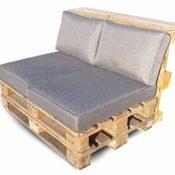 Palettenkissen Set Rückenkissen