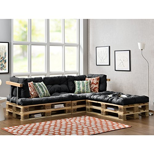 paletten sofa indoor sofa mit paletten kissen. Black Bedroom Furniture Sets. Home Design Ideas
