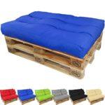 Paletten Lounge Sitzkissen blau