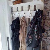 Garderobe aus Palette