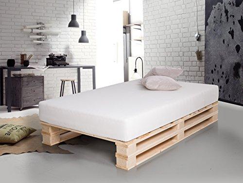 Betten aus Paletten. Ein mega Trend, den Du bei uns findest.