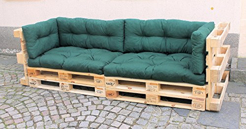kissen set f r palettensofa. Black Bedroom Furniture Sets. Home Design Ideas