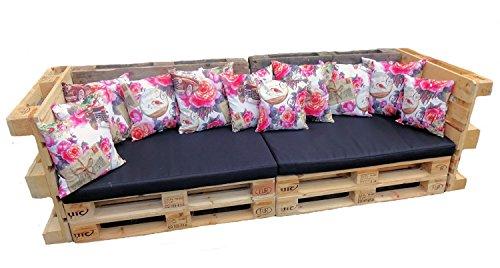 set dekokissen mit pink design. Black Bedroom Furniture Sets. Home Design Ideas