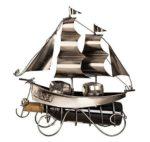 Flaschenhalter Segelschiff
