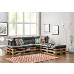 Paletten-Sofa Indoor