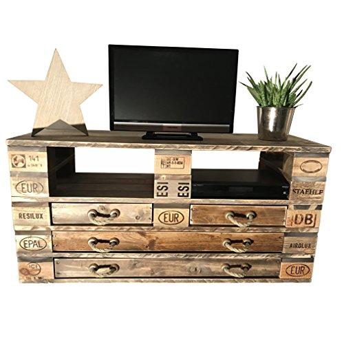 fernsehtisch aus europaletten neuheit im bereich der palettenm bel. Black Bedroom Furniture Sets. Home Design Ideas