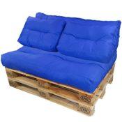 proheim Palettenkissen Lounge blau