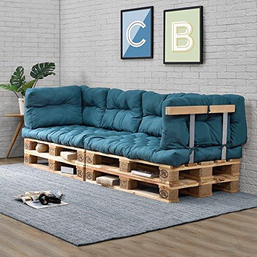 Palettensofa Indoor mit Kissen
