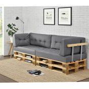 Modernes Paletten Sofa